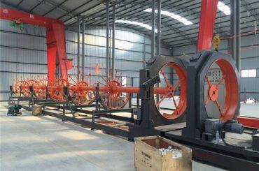 cnc ocelový klec svařovací stroj ocelový rolí švový svářeč použití pro stavbu