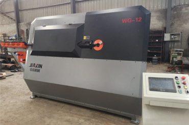 tovární železná tyč cnc automatické třmenové ohýbačky stroj