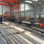 vyrobené v Číně jednoduchý provoz odolné a robustní zajištění kvality ocelové armatury svařovací klec a zesílení klece